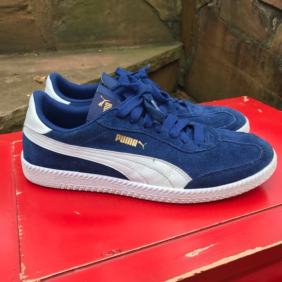 4b071c2ee6c Puma Shoes | Mens Blue White | Poshmark